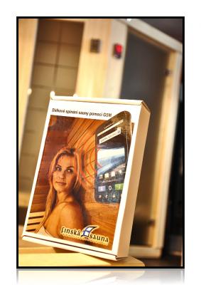 GSM modul pro vzdálené ovládání sauny