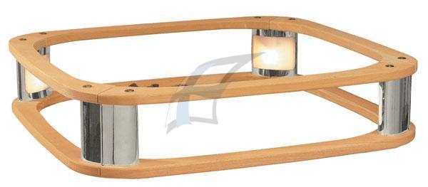 Dřevěná horní ohrádka s integr.osvětlením