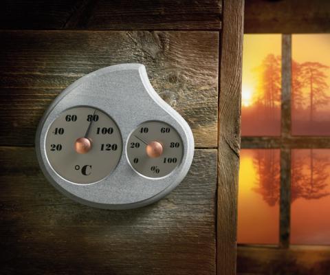 Teploměr s vlhkoměrem do sauny Maininki