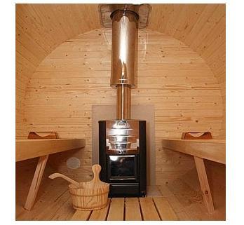 Sudová sauna Termoborovicová, 2 x 4,6 m -3 místnosti