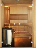 STRAIGHT 13 X 19 - Dveře do sauny Harvia Osika /Olše, Sklo bronze nebo čiré