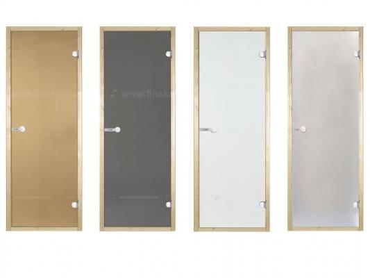 D71901M - Dveře do sauny Harvia Borovice / Sklo Bronze 7x19