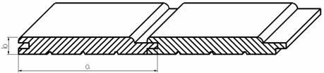 Saunové palubky osika 12x65x2100mm (10ks/bal),STP