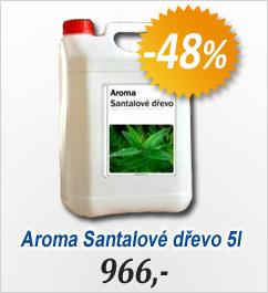 Aroma do sauny - Santalové dřevo - Profip. 5 litrů (V2014)