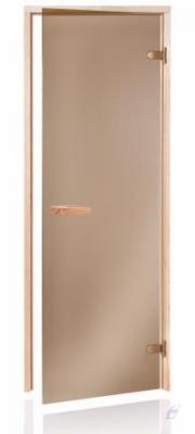 Dveře A saunové Raiser68 7x19 Bronze 690x1871 mm