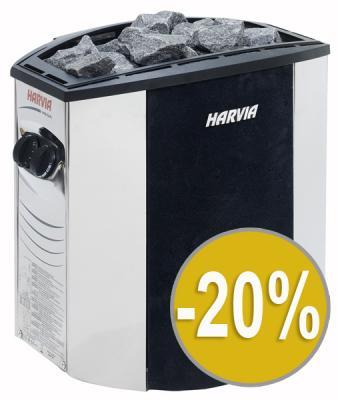 Sleva 20% - Saunová kamna Harvia Lux E 4,5 KW