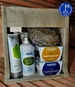Kosmetický balíček do sauny s dárkovou taškou - varianta 1