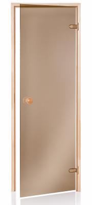 Dveře A saunové 7x19 Bronze 690x1890 mm