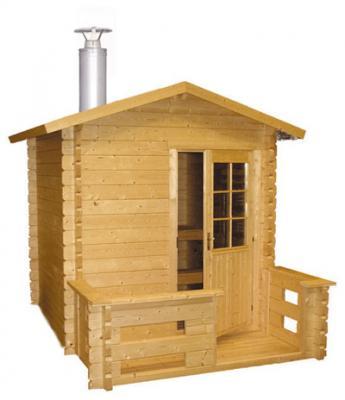 Venkovní srubová sauna Kuikka / A