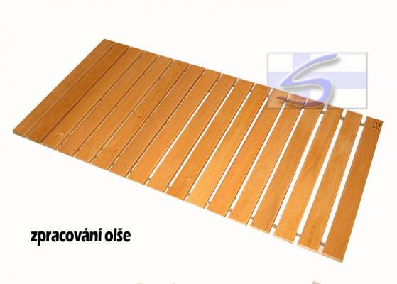 Podlahový rošt do sauny, termowood - 80x90cm