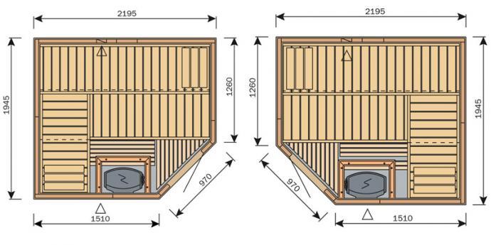 Finská sauna Harvia Vario S2220R / Formula