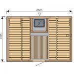 Finská sauna Harvia Vario S3020H / Formula