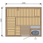 Finská sauna Harvia Vario S2520 / Formula