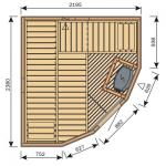 Finská sauna Harvia Vario S2522M / Formula