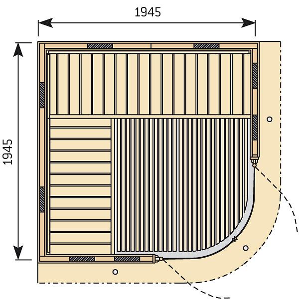 Rondium Infra big půdorys